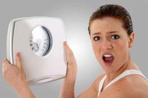 As causas do ganho de peso inesperado