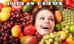 Dieta detox para 10 dias