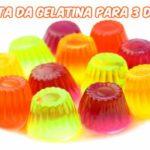 Dieta da gelatina para 3 dias