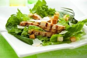 Saladas de verãocom poucas calorias