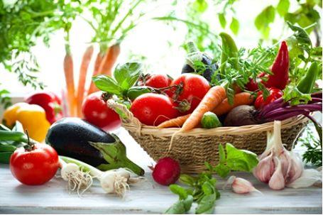 Vegetais pobres em hidratos de carbono