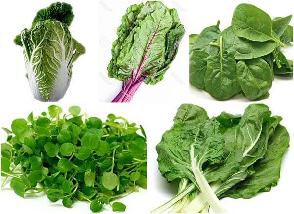 os vegetais mais saudáveis