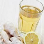Chá de gengibre e limão ajuda a emagrecer