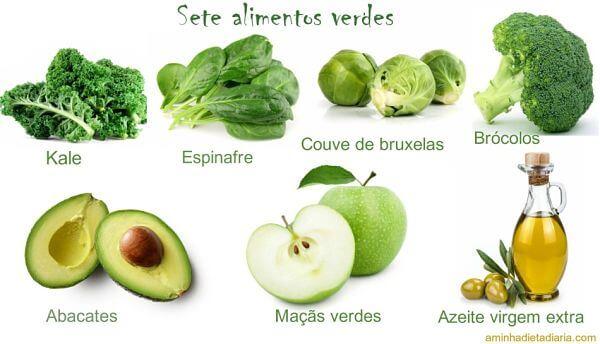 verduras que não engordam