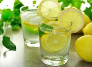 água com limão ajuda a perder peso