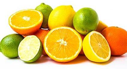 Quais são os alimentos ricos em vitamina C?