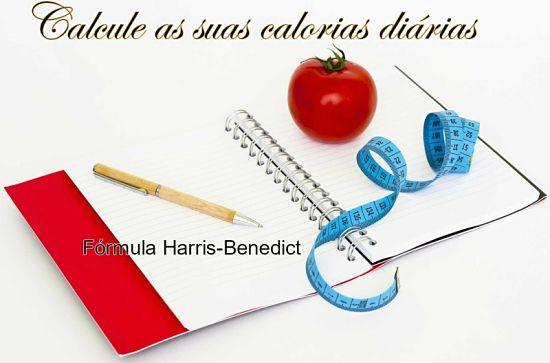 Harris-Benedict para calcular as necessidades de calorias diárias recomendadas