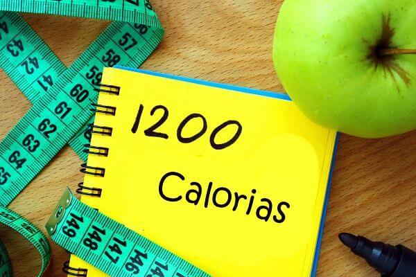 Plano alimentar de 1200 calorias