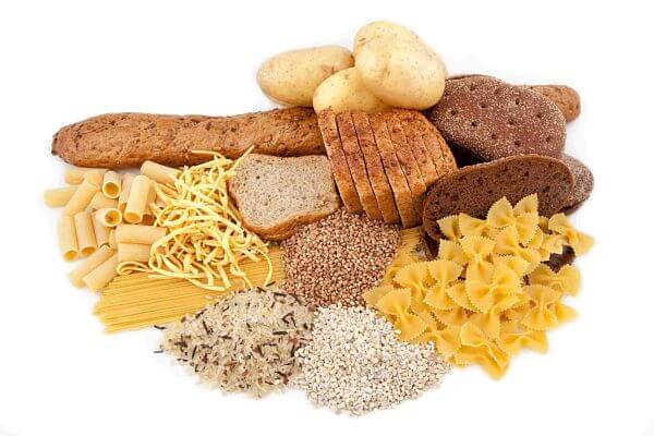 Alimentos ricos em hidratos de carbono a evitar